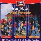 3er Box Fünf Freunde erleben ihre ersten Abenteuer / Fünf Freunde Bd.1/2/3 (3 Audio-CDs)