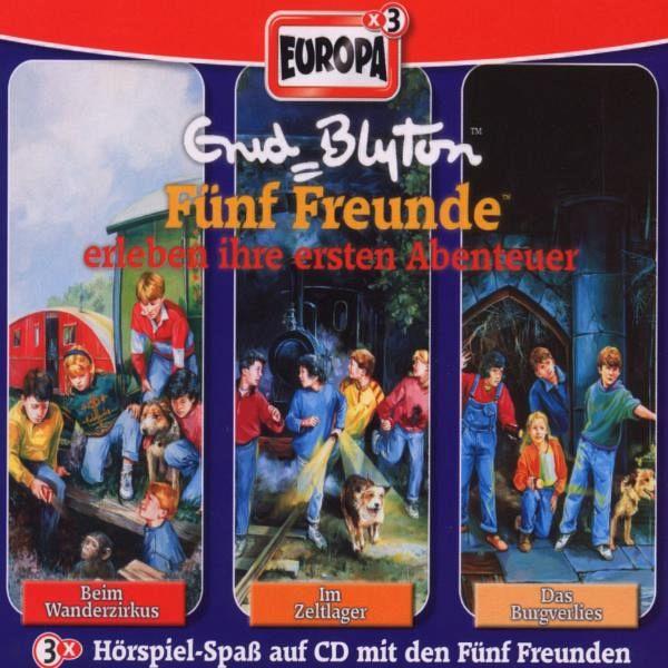 3er Box Fünf Freunde erleben ihre ersten Abenteuer / Fünf Freunde Bd.1/2/3 (3 Audio-CDs) - Blyton, Enid