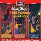 3er Box Fünf Freunde retten die Tiere / Fünf Freunde Bd.40/41/46 (3 Audio-CDs)
