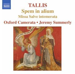 Spem In Alium/Salve Intemerata - Jeremy Summerly/Oxford Camerata