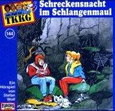Schreckensnacht im Schlangenmaul / TKKG Bd.144 (1 Audio-CD)
