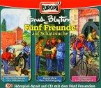 3er Box Fünf Freunde auf Schatzsuche / Fünf Freunde Bd.32/33/36 (3 Audio-CDs)