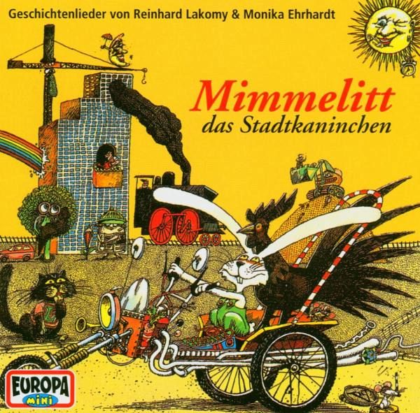 Mimmelitt das Stadtkaninchen 1 Audio-CD
