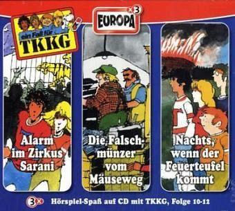 Die 4. TKKG Box (Folge 10-12)