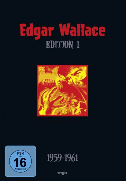 Edgar Wallace Edition 01 4 DVDs