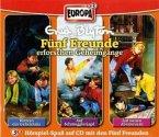 3er Box Fünf Freunde erforschen Geheimgänge / Fünf Freunde Bd.15/19/21 (3 Audio-CDs)
