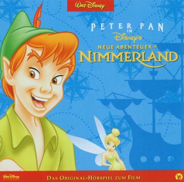 Peter Pan 2 Cd Von Walt Disney Hörbücher Portofrei Bei Bücherde