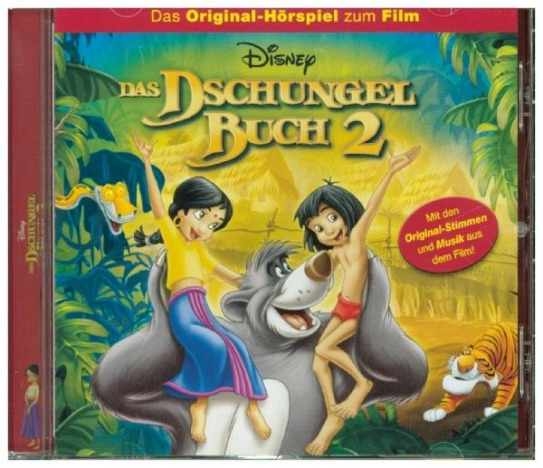 das dschungelbuch 2 1 audio cd von walt disney h rbuch. Black Bedroom Furniture Sets. Home Design Ideas