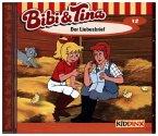 Der Liebesbrief / Bibi & Tina Bd.12 (1 Audio-CD)