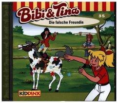 Die falsche Freundin / Bibi & Tina Bd.35 (1 Aud...