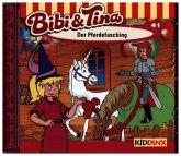 Der Pferdefasching / Bibi & Tina Bd.41 (1 Audio-CD)
