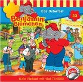 Das Osterfest / Benjamin Blümchen Bd.33 (Audio-CD)