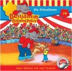 Die Zirkuslöwen / Benjamin Blümchen Bd.79 (1 Audio-CD)