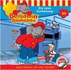 Die neue Zooheizung / Benjamin Blümchen Bd.80 (1 Audio-CD)