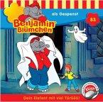 Benjamin Blümchen als Gespenst / Benjamin Blümchen Bd.83 (1 Audio-CD)