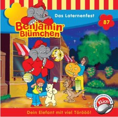 Das Laternenfest / Benjamin Blümchen Bd.87 (1 Audio-CD)