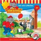 Der rote Luftballon / Benjamin Blümchen Bd.89 (1 Audio-CD)