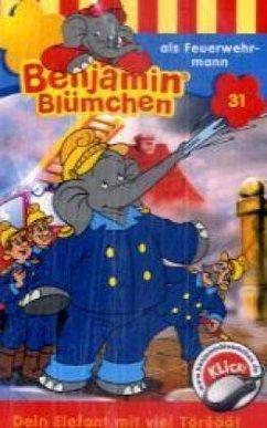 Benjamin Blümchen als Feuerwehrmann, 1 Cassette