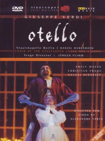 Verdi, Giuseppe - Otello - Barenboim/Franz/Magee/+