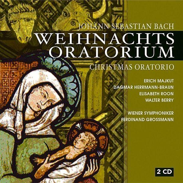 weihnachts oratorium auf audio cd portofrei bei b. Black Bedroom Furniture Sets. Home Design Ideas