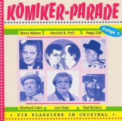 Komiker-Parade Folge 01 - Herricht & Preil/Cohrs,Eberhard/Statz,Leni/+