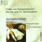 Goethe Lieder 18./19.Jh