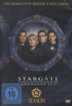 Stargate Kommando SG-1 - Season 09 (6 DVDs)