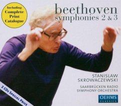 Sinfonien 2 & 3 - Skrowaczewski/Rso Saarbrücken