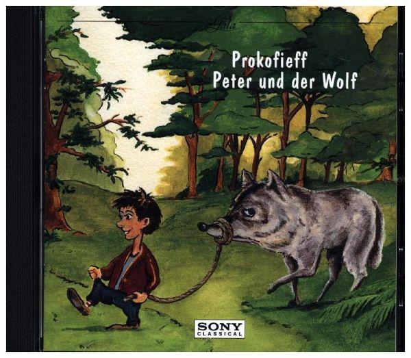 peter und der wolf auf audio cd portofrei bei b. Black Bedroom Furniture Sets. Home Design Ideas