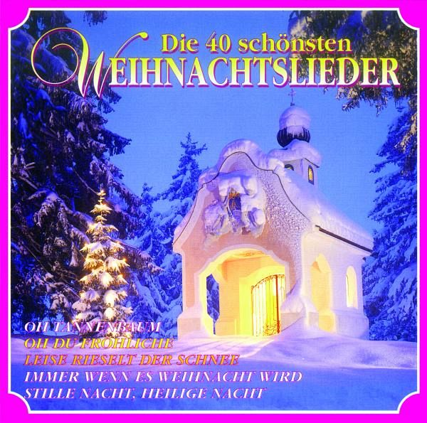 die 40 sch nsten weihnachtslieder auf audio cd portofrei. Black Bedroom Furniture Sets. Home Design Ideas