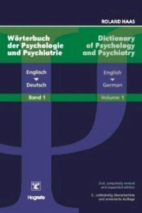 W rterbuch der psychologie und psychiatrie 1 englisch for Dictionary englisch deutsch