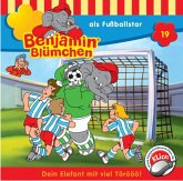 Benjamin Blümchen als Fußballstar / Benjamin Blümchen Bd.19 (1 Audio-CD)