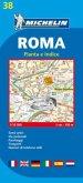 Michelin Karte Roma, Pianta e Indice