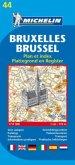 Michelin Karte Bruxelles; Brussel