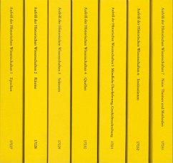 Aufriss der Historischen Wissenschaften. 7 Bände - Maurer, Michael (Hrsg.)