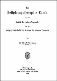 Die Religionsphilosophie Kants