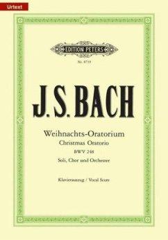 Weihnachtsoratorium BWV 248, Klavierauszug