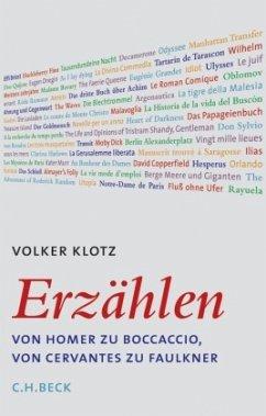 Erzählen - Klotz, Volker