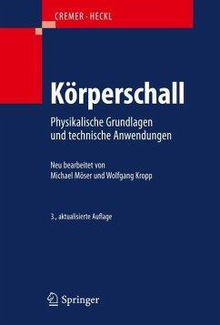 Körperschall - Möser, Michael;Kropp, Wolfgang