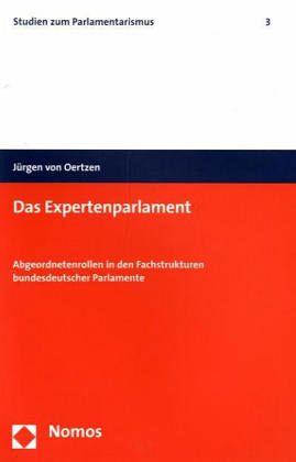 Das Expertenparlament - Oertzen, Jürgen von
