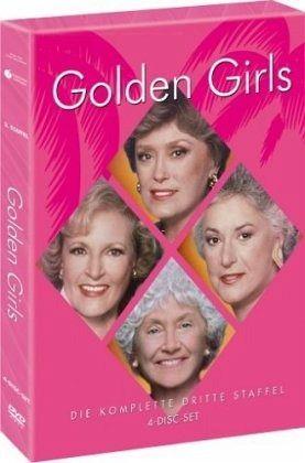 Golden Girls Die Komplette Dritte Staffel 4 Dvds