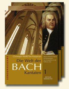 Die Welt der Bach-Kantaten, 3 Bde.