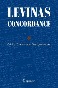 Levinas Concordance - Ciocan, Cristian;Hansel, Georges
