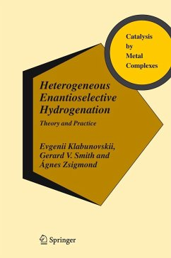 Heterogeneous Enantioselective Hydrogenation - Klabunovskii, Evgenii;Smith, Gerard V.;Zsigmond, Ágnes