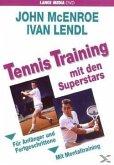 Tennis Trainig mit den Superstars