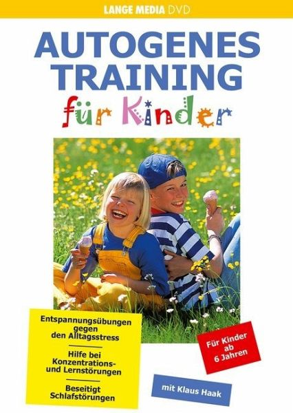 autogenes training f r kinder film auf dvd b. Black Bedroom Furniture Sets. Home Design Ideas