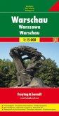 Freytag & Berndt Stadtplan Warschau; Warsaw; Warszawa; Varsovie