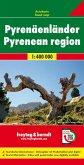 Freytag & Berndt Autokarte Pyrenäenländer; Paises Pirenaicos; Pyreneeen Landen; Pyrenean region; Pays Pyrénées; Paesi de