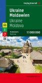 Freytag & Berndt Autokarte Ukraine, Moldawien; Ucrania, Moldavia; Oekraine, Moldavie
