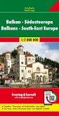 Freytag & Berndt Autokarte Balkan, Südosteuropa; Balcanes, Europa del Sudeste; Balkan, Zuidoost-Europa; Balkans, South-E